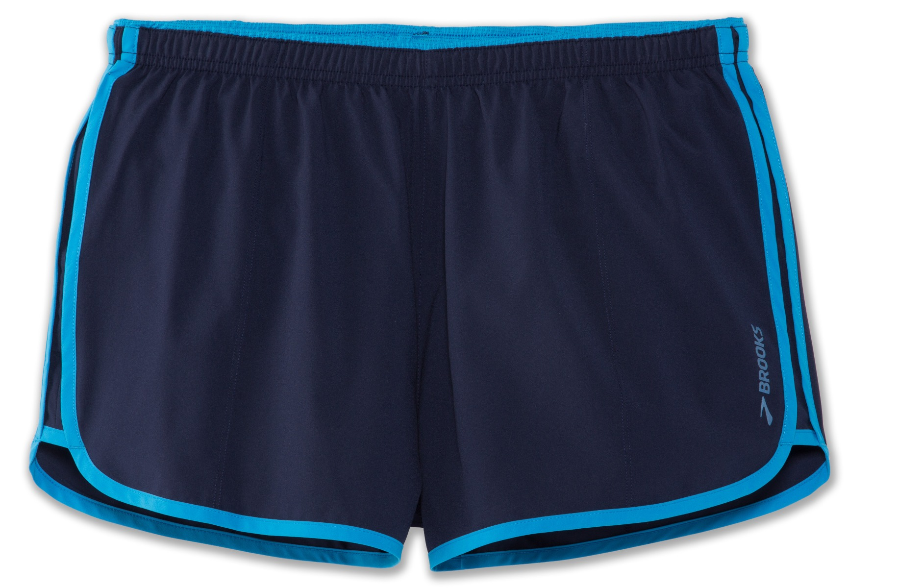 "Brooks Running Go-To 3"" Short NAVY/SKY Ladies"