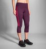 Brooks Running Greenlight Capri IRIS/PLUM Ladies