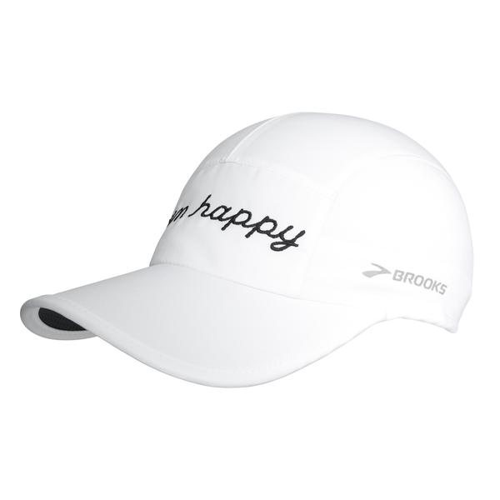 Run Happy Sherpa Hat Unisex White OSFA