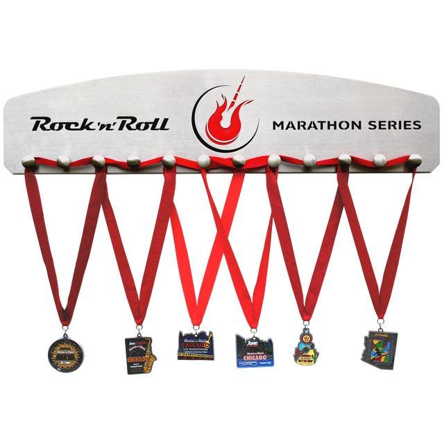 Rock n Roll Marathon Series Stainless Steel- Medal Hanger 12 knobs