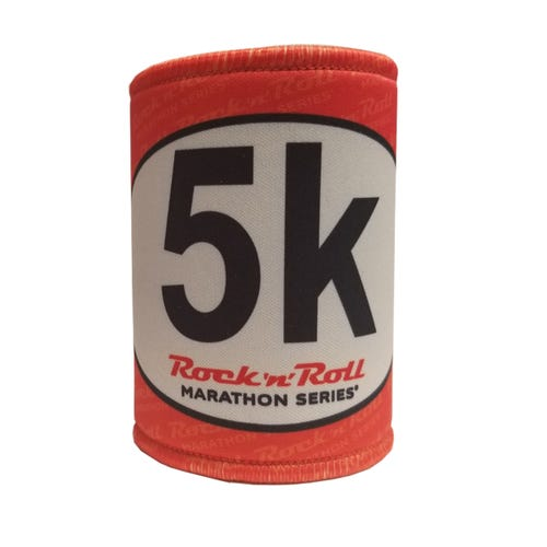 ROCK N ROLL MARATHON SERIES STICKER KOOZIE 5K