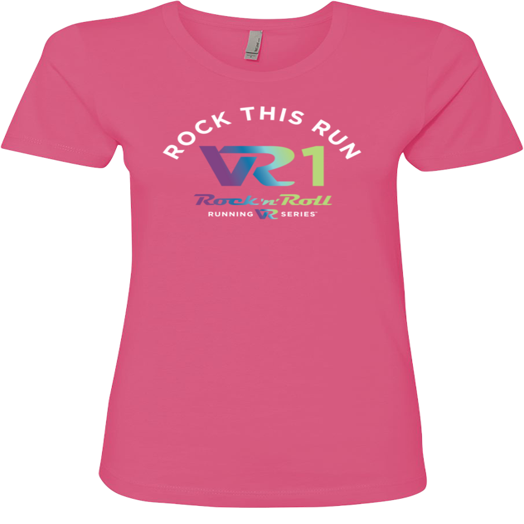 Rock n Roll Running Series Women's VR1 Graphic Tee