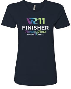 Rock n Roll Running Series Women's VR11 Finisher Graphic Tee