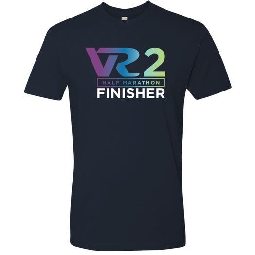 Rock n Roll Running Series Men's VR2 Half Marathon Finisher Graphic Tee