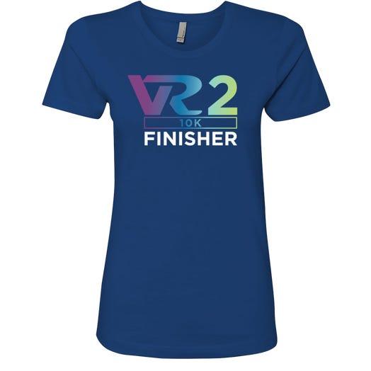 Rock n Roll Running Series Women's VR2 10K Finisher Graphic Tee