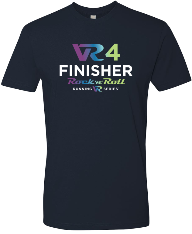 Rock n Roll Running Series Men's VR4 Finisher Graphic Tee