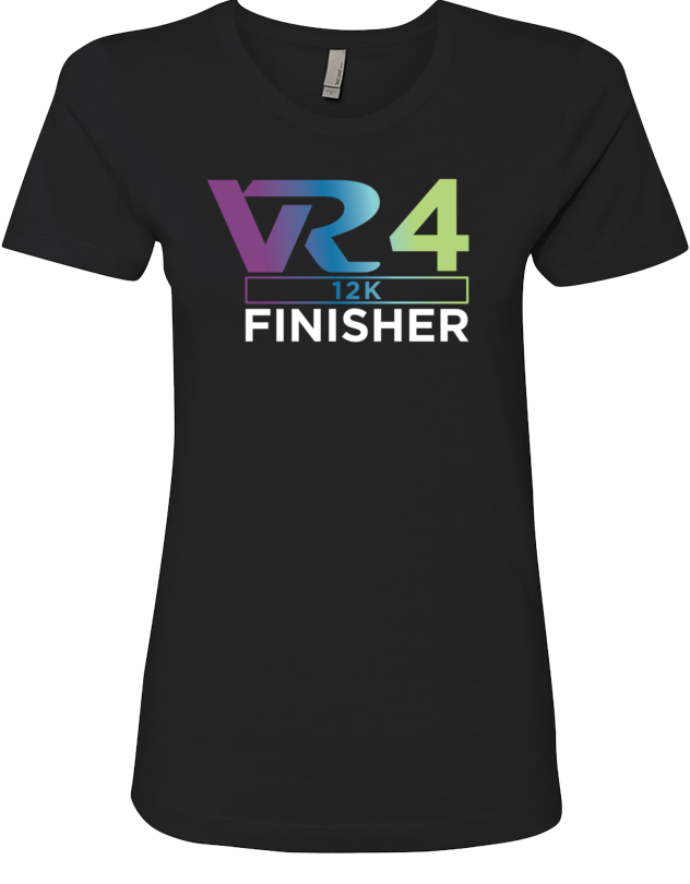 Rock n Roll Running Series Women's VR4 12K Finisher Graphic Tee