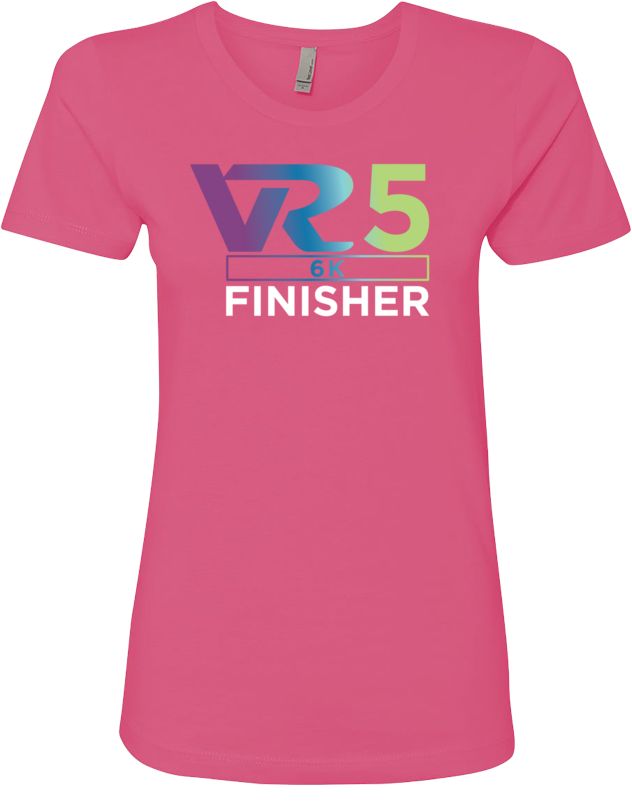 Rock n Roll Running Series Women's VR5 6K Finisher Graphic Tee