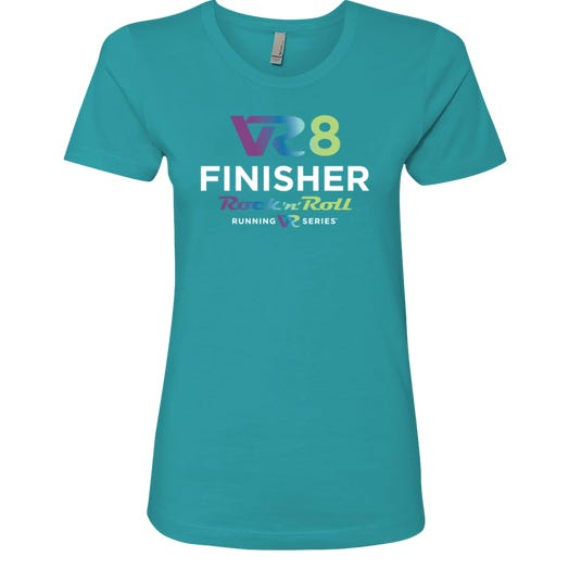 Rock n Roll Running Series Women's VR8 Finisher Graphic Tee