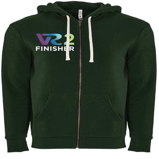 Rock n Roll Running Series VR2 Finisher Fleece Zip Hoodie