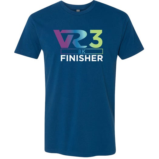 Rock n Roll Running Series Men's VR3 8K Finisher Graphic Tee