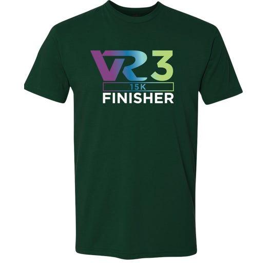 Rock n Roll Running Series Men's VR3 15K Finisher Graphic Tee