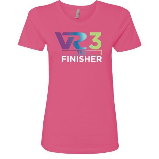 Rock n Roll Running Series Women's VR3 15K Finisher Graphic Tee