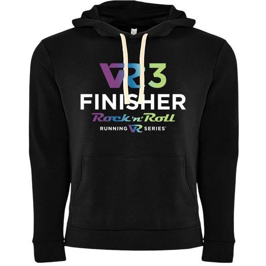 Rock n Roll Running Series VR3 Finisher Fleece Pullover Hoodie