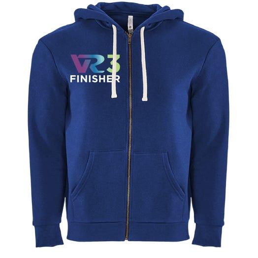 Rock n Roll Running Series VR3 Finisher Fleece Zip Hoodie