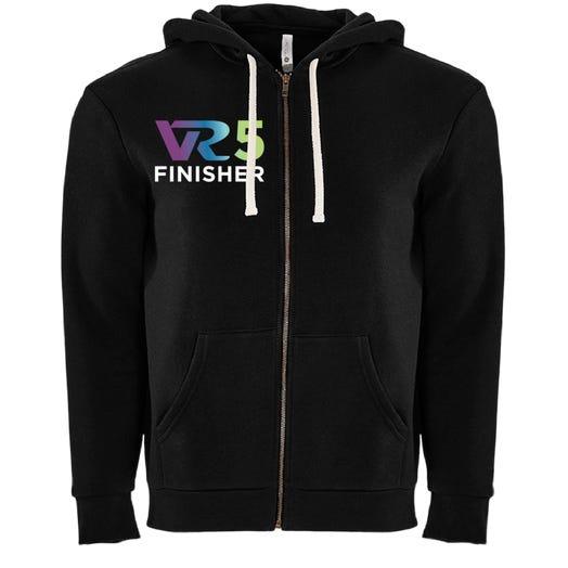 Rock n Roll Running Series VR5 Finisher Fleece Zip Hoodie