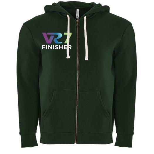 Rock n Roll Running Series VR7 Finisher Fleece Zip Hoodie