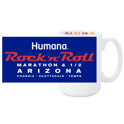 ROCK N ROLL MARATHON SERIES ARIZONA 2019 EVENT COFFEE MUG