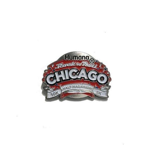 ROCK N ROLL MARATHON SERIES CHICAGO MEDAL PIN