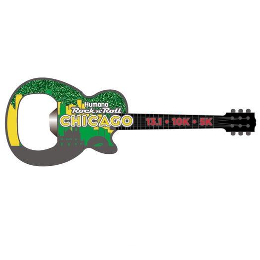 ROCK N ROLL MARATHON SERIES CHICAGO EVEN BOTTLE OPENER