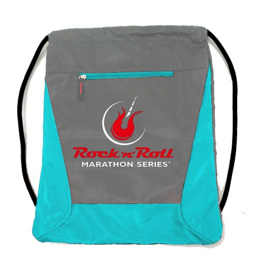ROCK N ROLL MARATHON SERIES SLING GREY/TURQUOISE