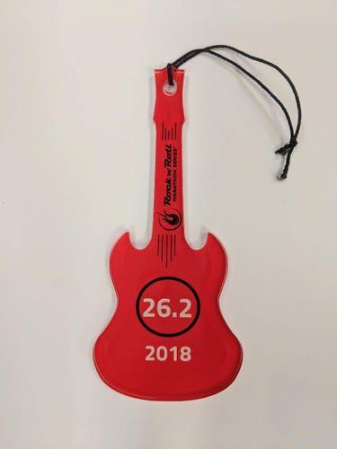 Rock 'n' Roll Marathon Series Guitar Ornament