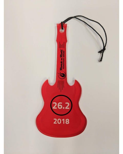 Rock 'n' Roll Marathon Series Guitar Ornament