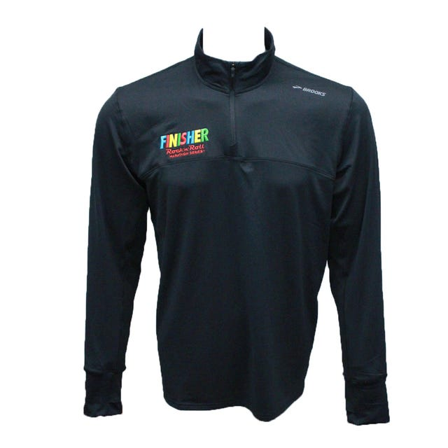 ROCK N ROLL MARATHON SERIES MEN'S FINISHER MULTI HALF ZIP