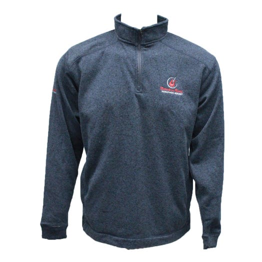ROCK N ROLL MARATHON SERIES MEN'S HALF ZIP - ONYX