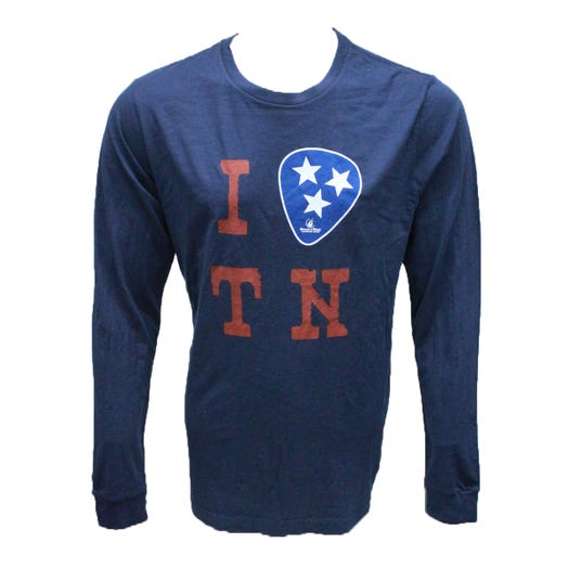 ROCK N ROLL MARATHON SERIES I PICK TN LS TEE