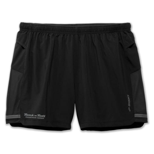 "ROCK N ROLL MARATHON SERIES MEN'S 5"" SHERPA SHORT"