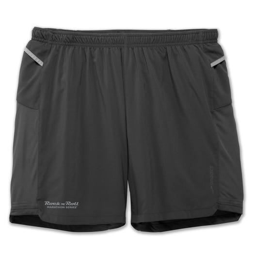 "ROCK N ROLL MARATHON SERIES MEN'S 7"" 2-IN-1 SHORT"
