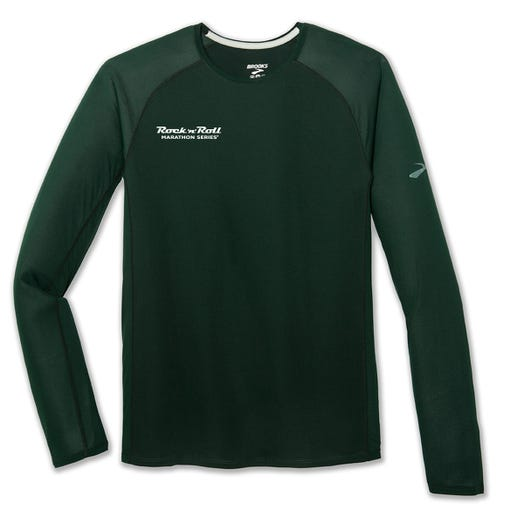 ROCK N ROLL MARATHON SERIES MEN'S STEALTH LONG SLEEVE TEE