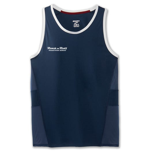 ROCK N ROLL MARATHON SERIES MEN'S STEALTH SINGLET
