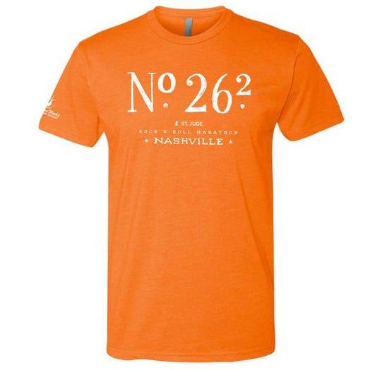 ROCK N ROLL MARATHON SERIES NASHVILLE MEN'S 26.2K SHORT SLEEVE TEE