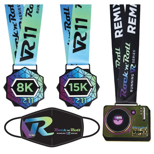 ROCK N ROLL VR11 REMIX FINISHER MEDAL