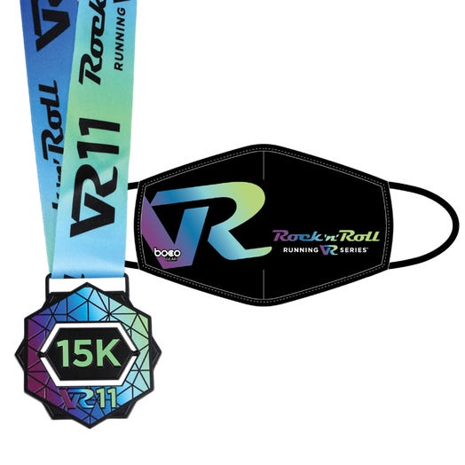ROCK N ROLL VR11 15K FINISHER MEDAL