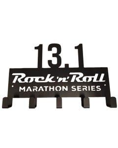 ROCK N ROLL MARATHON SERIES 13.1 MEDAL DISPLAY HANGER