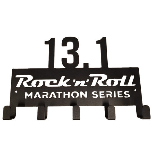 ROCK N ROLL MARATHON SERIES 13.1 MEDAL DISPLAY HANGER
