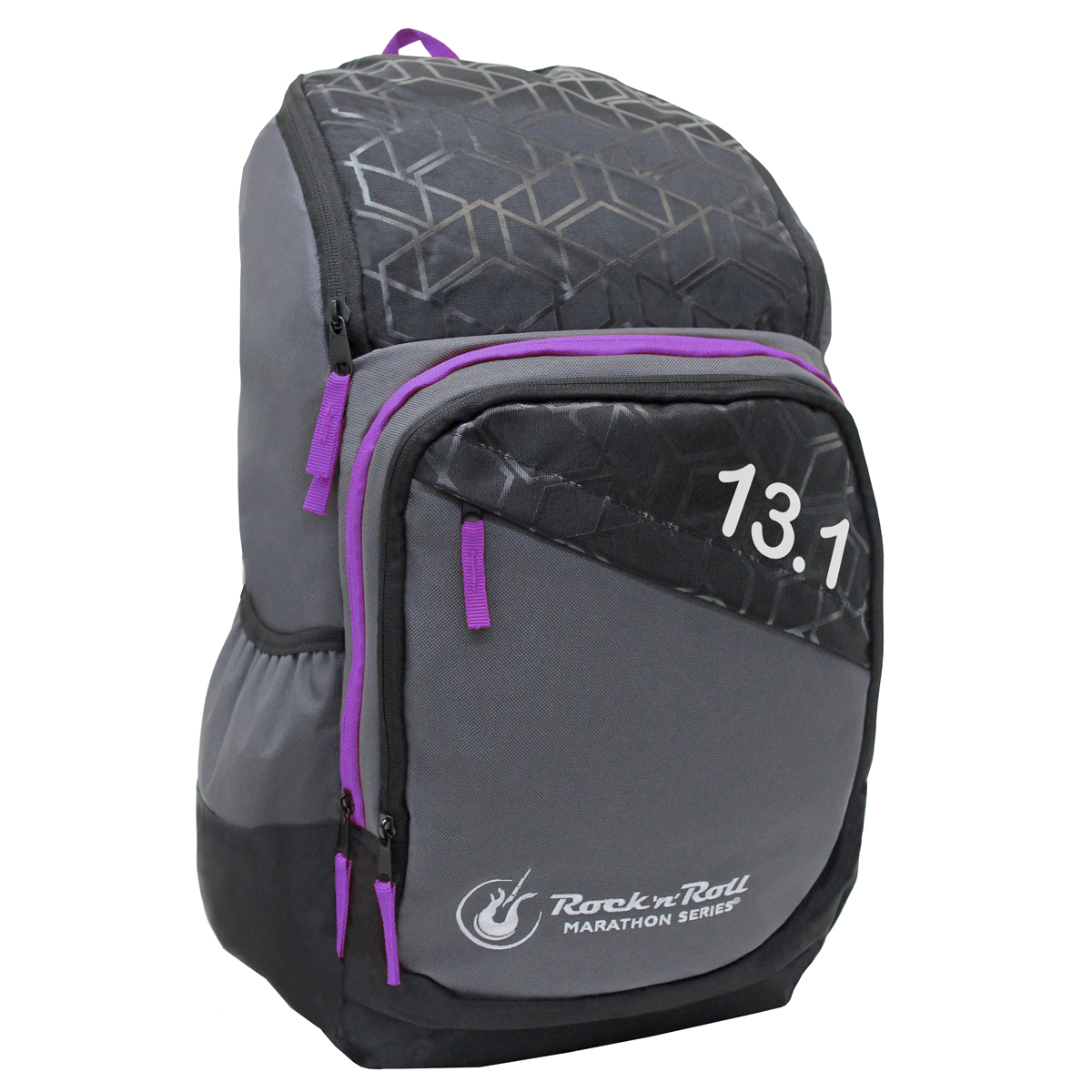 ROCK N ROLL MARATHON SERIES 13.1 GEO BACKPACK PURPLE