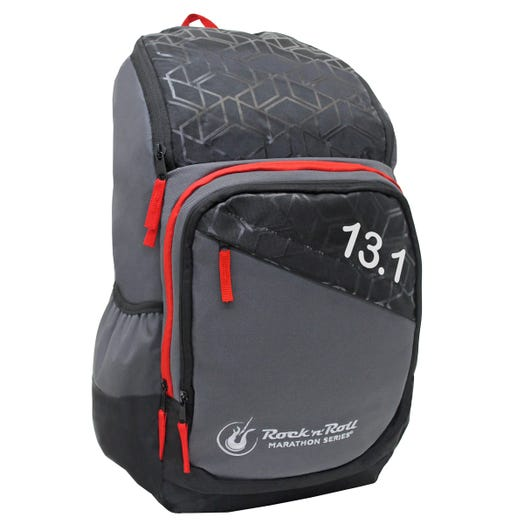 ROCK N ROLL MARATHON SERIES 13.1 GEO BACKPACK RED