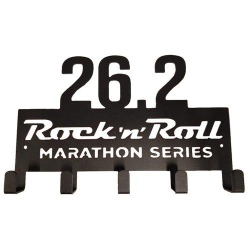 ROCK N ROLL MARATHON SERIES 26.2 MEDAL DISPLAY HANGER