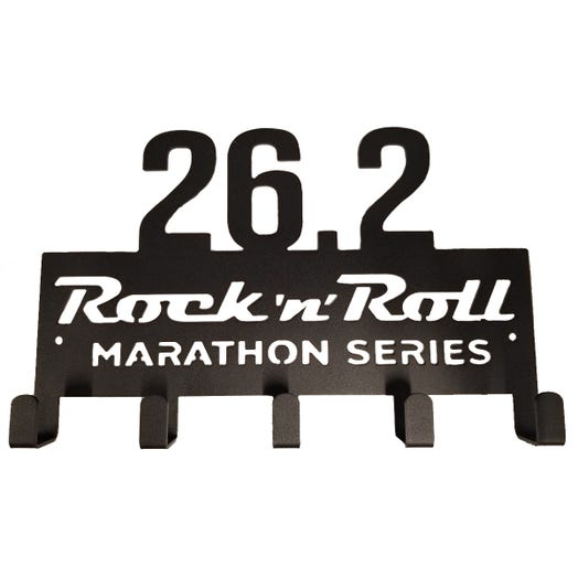 ROCK N ROLL MARATHON SERIES 26.2 MEDAL DISPLAY HANGER