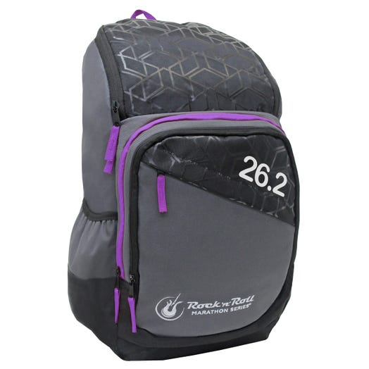 ROCK N ROLL MARATHON SERIES 26.2 GEO BACKPACK PURPLE