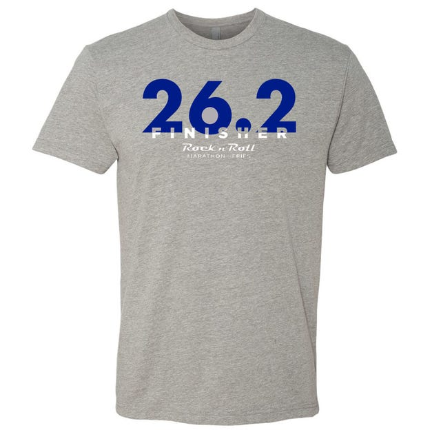 ROCK N ROLL MARATHON SERIES FINISHER 26.2 TEE MENS
