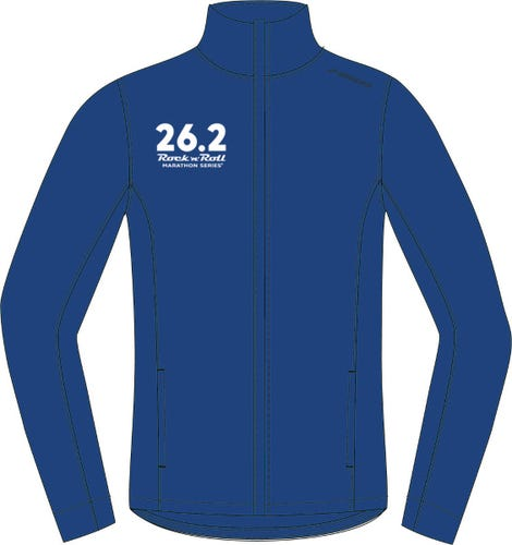 ROCK N ROLL MARATHON SERIES 26.2 JACKET MENS INK