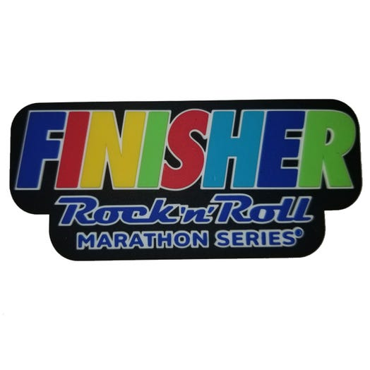 ROCK N ROLL MARATHON SERIES FINISHER MULTI MAGNET