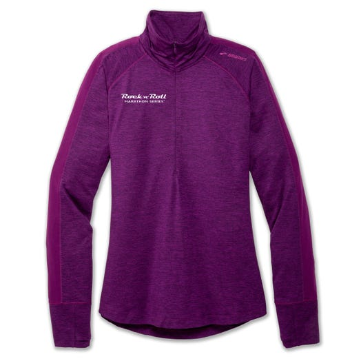 ROCK N ROLL MARATHON SERIES WOMEN'S HALF ZIP