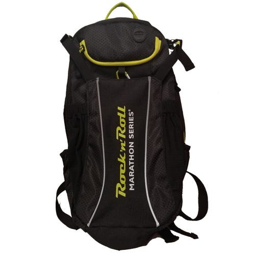 ROCK N ROLL MARATHON SERIES HYDRATION PACK BLACK LIME