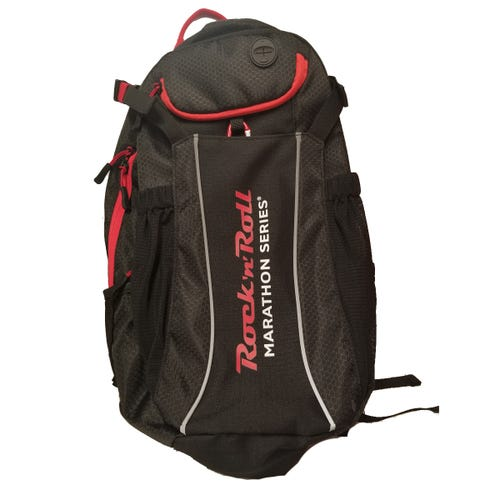 ROCK N ROLL MARATHON SERIES HYDRATION PACK BLK RED